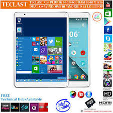 android os for pc teclast x98 plus 3g 64gb intel z8300 dual os windows 10 android