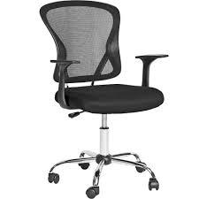 siege reglable en hauteur chaise fauteuil siège de bureau hauteur réglable tectake