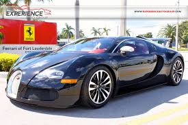 first bugatti ever made used 2010 bugatti veyron eb 16 4 sang noir for sale fort