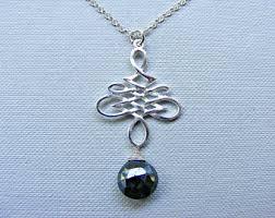 black sapphire necklace images Black sapphire etsy jpg
