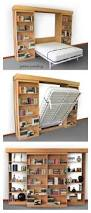 Library Bedroom Diy Modern Farmhouse Murphy Bed With Bookcase Murphy Bed House