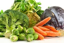 Green Root Vegetables - chef foster brussel sprouts broccoli greens and root vegetables