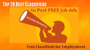 Post Resume Online Free by Online Job Posting What Are 20 Best Classifieds Websites To Post