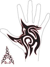 Finger Tribal - the 25 best tribal tattoos ideas on simple