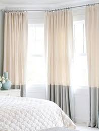 2 Tone Curtains Two Tone Dip Dye Some Curtains For The Living With The Tips As The