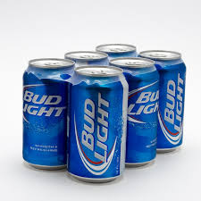 bud light beer can bud light 12oz 6 pack can beer wine and liquor delivered to your