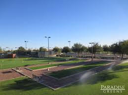 artificial turf bocce ball courts in arizona paradise greens