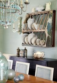 Shabby Chic Plate Rack by Bordered Dinner Plates Dining Room Shabby Chic Style With Gold