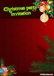 christmas party invitation template top christmas invitations for this christmas easyday