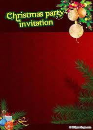 templates for xmas invitations christmas party invitations templates gangcraft net