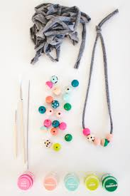 mini makers kids bauble necklace craft diy rae ann kelly