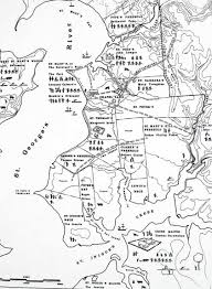 Maryland Map Map Of St Mary U0027s City St Mary U0027s County Maryland 1645