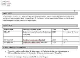 resume format for engineering students for tcs next step download mechanical engineer resume format placement papers