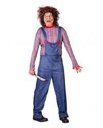 Killer Doll Halloween Costume Killer Doll Men Costume Killer Doll Costume Horror Shop
