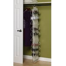 hanging shoe organizer hanging shoe storage with laminate flooring and white color closet