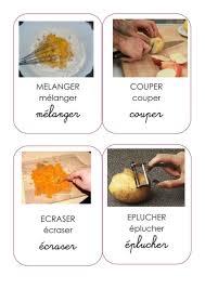 verbe de cuisine cuisine