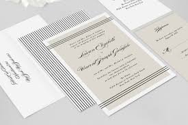 Classic Wedding Invitations Alden Classic Wedding Invitation Fresh And Modern Wedding