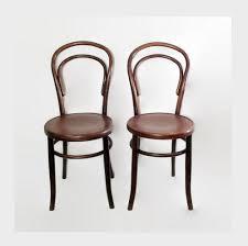 Thonet Bistro Chair Antique Fischel Bentwood Chairs Thonet Cafe Bistro Chairs