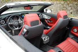lexus vs mercedes c300 2017 mercedes benz c class cabriolet first drive review