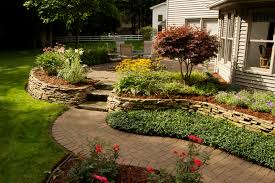 landscape front yard landscaping ideas with mulch the garden