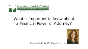 Unlimited Power Of Attorney by What Is Important To Know About A Financial Power Of Attorney