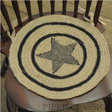 braided chair pads for kitchen chairs trends and country primitive