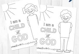 emejing a child god coloring page gallery style and ideas