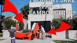 what type of car is a lamborghini i bought jake paul a lamborghini