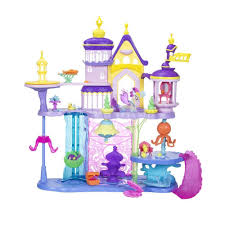 my ponies my little pony the movie canterlot u0026 seaquestria castle