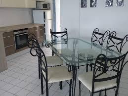 chaises en fer forgé table verre et fer forgé et 6 chaises annonce meubles et