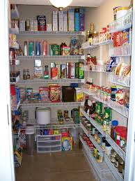 furnitures narrow pantry closet shelving idea simple pantry