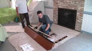 pearl mantels installing a pearl mantels shelf youtube