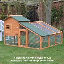 Rabbit Hutch With Large Run Bunny Ark Hutch U0026 Run Feel Good Uk