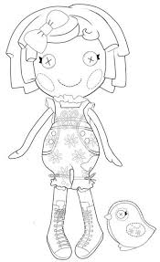 lalaloopsy doll colouring pages tinkerbell coloring sheets