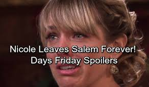 nichole on days of our lives with short haircut days of our lives spoilers friday october 20 nicole fights