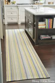 Black And White Striped Kitchen Rug Black And White Striped Kitchen Rug 2x3black And White
