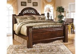 gabriela king poster bed ashley furniture homestore