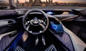 lexus minority report sports car lexus ux concept makes 3d driving a thing