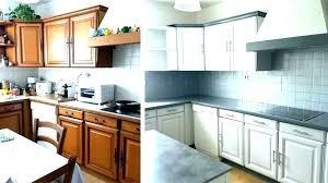 repeindre meuble cuisine chene jaimye peindre meuble de cuisine stratifie meilleur design
