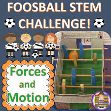 Challenge Motion Foosball Stem Challenge Forces And Motion By The Hungarian