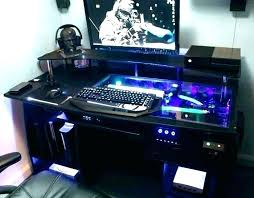 Computer Built Into Desk Desk Built In Pc Custom Built Desk Pc Cosmeticdentistone Info