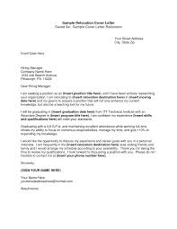 resume and cover letter exles relocation cover letter sle resume cover letter relocation