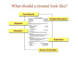 What Should A Resume Have On It Lesson 10 Writing A Resume