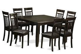 east west parfait 9 piece dining set wayfair