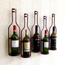 unique shaped wine bottles unique metal 5 bottles shaped metal wall wine rack holds 5 wine