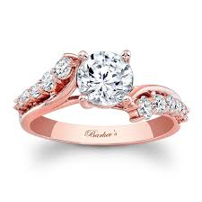 Rose Gold Wedding Ring by Barkev U0027s Rose Gold Engagement Ring 7926lp