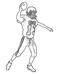 lovely football player coloring pages 17 for your seasonal