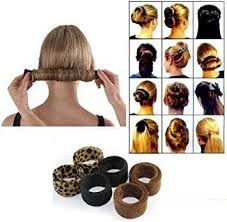 donut hair bun wisdompark 2 pieces hair styling disk donut bun maker