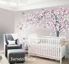 Tree Decal For Nursery Wall Nursery Wall Decal Blossom Tree Decal Baby Tree Wall Decals