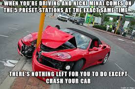 Car Accident Meme - crash your car meme on imgur